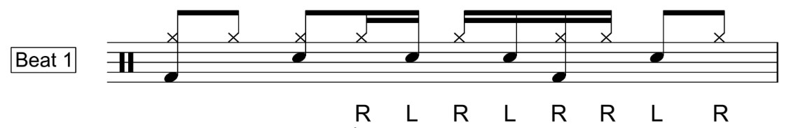Double Paradiddle Beat