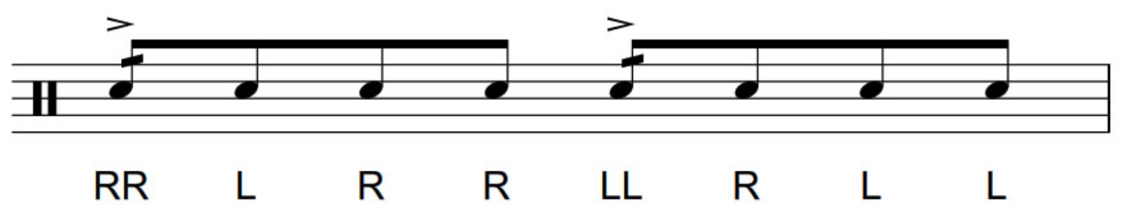 How do you play the single dragadiddle?